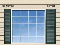 How To Measure For Shutters - Exterior Shutters