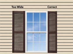 For Short Windows Where The Height Is Smaller Than The Width, Divide The  Width Of The Window By 4 For Your Shutter Width. Part 63
